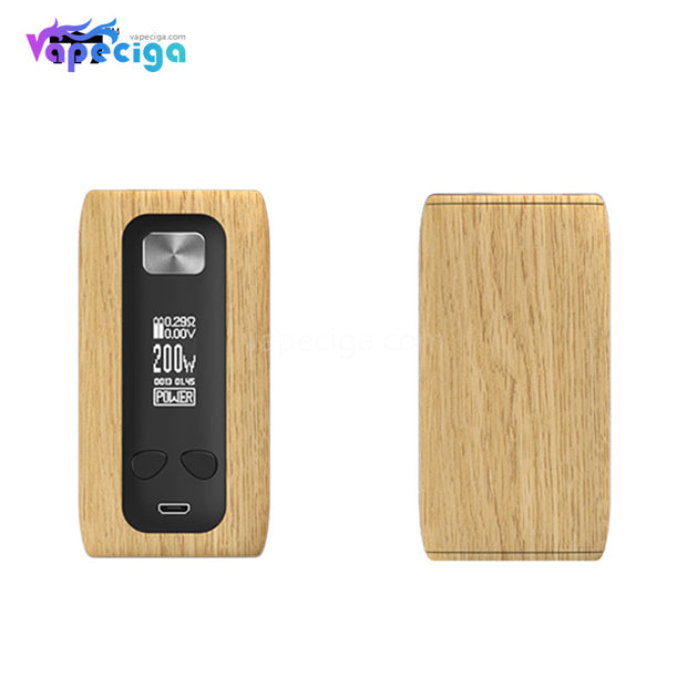 Think Vape Thor TC Box Mod - Oak Grain Version