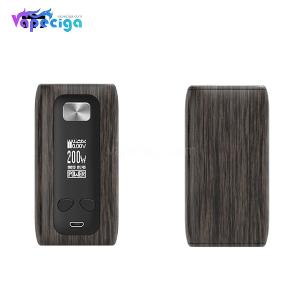 Think Vape Thor TC Box Mod - Ebony Grain Version
