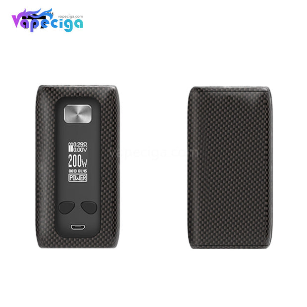 Think Vape Thor TC Box Mod - Carbon Fiber-A Grain Version