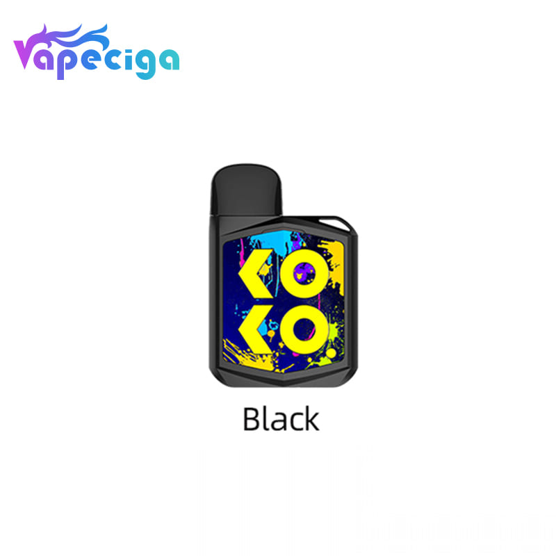 black uwell caliburn koko prime from vapeciga
