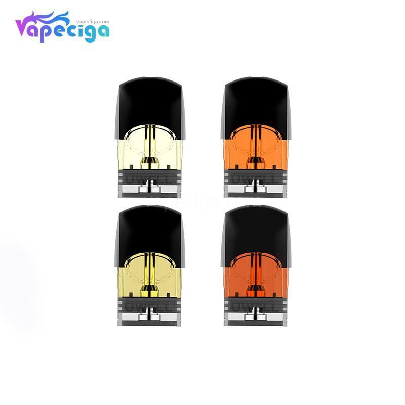 Uwell Yearn Replacement Pre-filled Pod Cartridge 1.5ml 4PCs Mixed Flavor