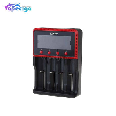 VAPJOY CS4 LCD intelligent Battery Charger US  Plug