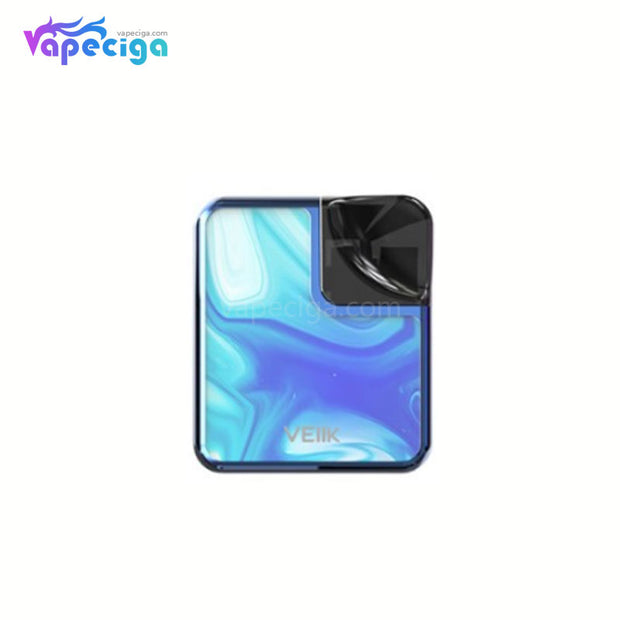 VEIIK Cracker Vape Pod System Starter Kit 500mAh 2ml Glass Version Ocean Blue
