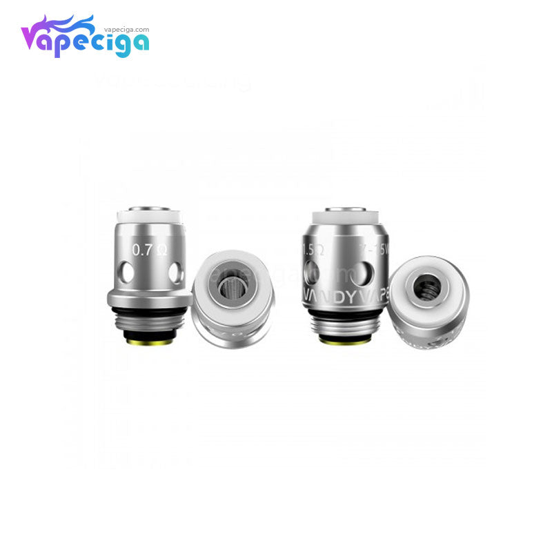 Vandy Vape Berserker S Replacement 0.7ohm Mesh / 1.5ohm / 1.8ohm MTL Coil Head 5PCs