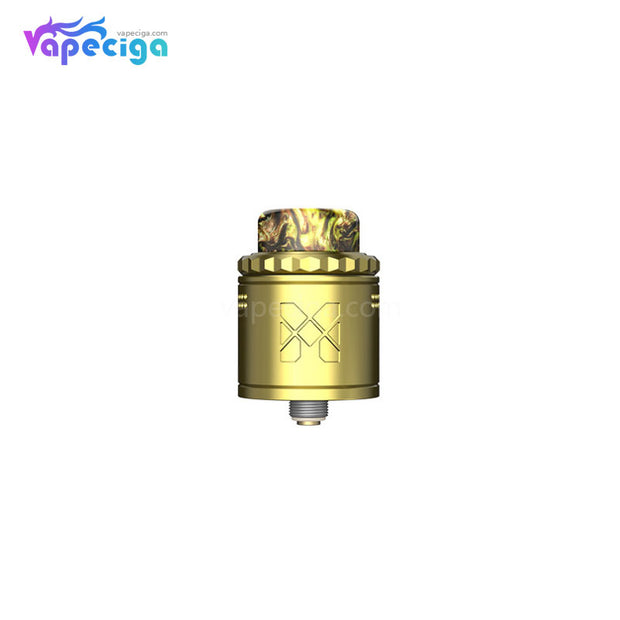 Vandy Vape M V2 RDA 25mm Gold with 4 Replaceable Mesh Coils