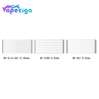 Vapefly Siegfried Replacement Mesh Wire 10PCS