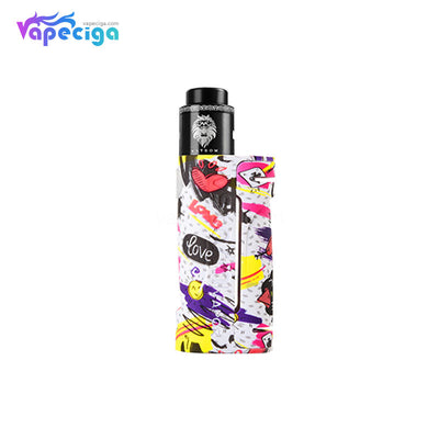 Vapor Storm ECO VV Mod Kit White with Lion RDA 2ml 90W