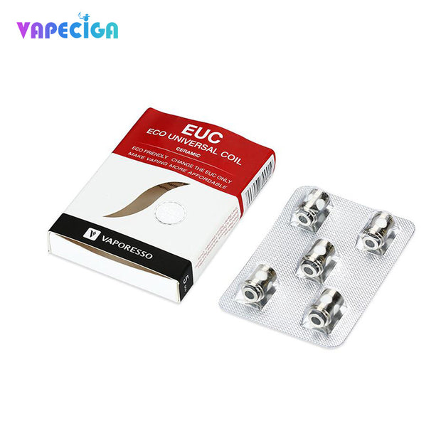Vaporesso EUC Replacement Meshed Coil Head Package 5pcs