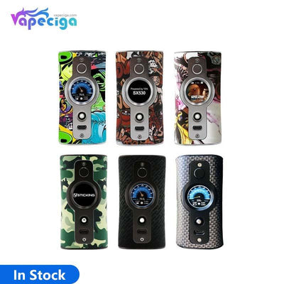 Vsticking VK530 TC Box Mod with YiHi SX530 Chip 200W