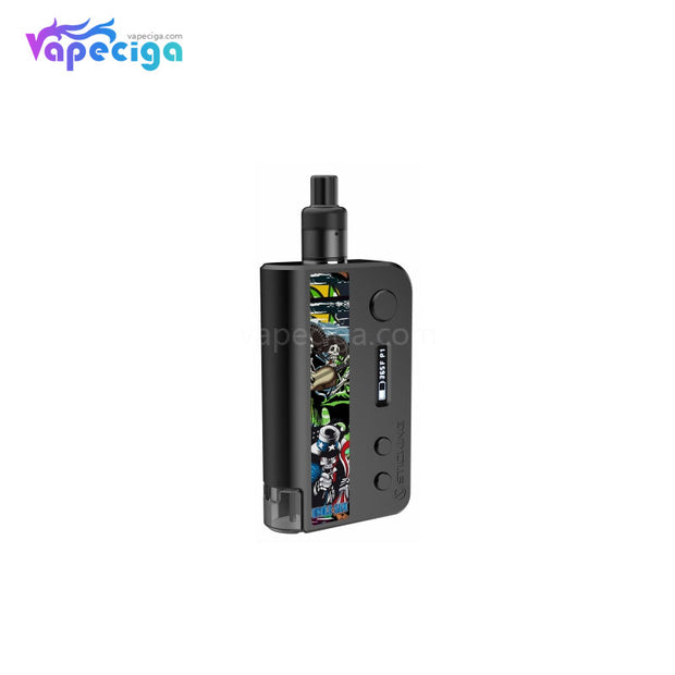Vsticking VKsma TC Mod Kit with YiHi ESS Chipset Auto Bottom Filling 1400mAh 3ml Skull Black