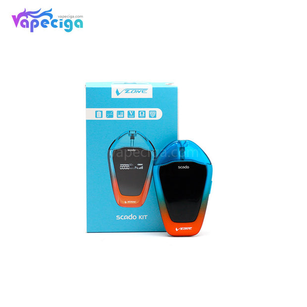 Vzone Scado Vape Pod System Starter Kit Package Includes