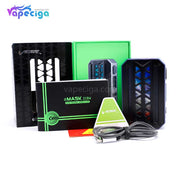 Vzone eMASK TC Box Mod 218W Package Includes