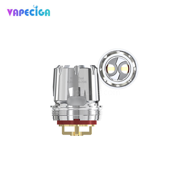 WISMEC WT02 Dual 0.2ohm Replacement Coil Head for Trough Tank