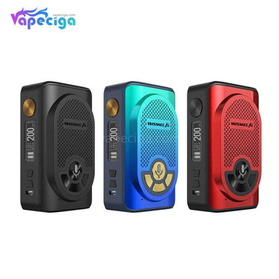 Wismec AI Alexa TC Box Mod 200W 3 Colors Optional