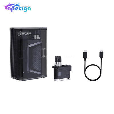 Wismec Preva DNA Vape Pod System VW Starter Kit 1050mAh 3ml Package Includes