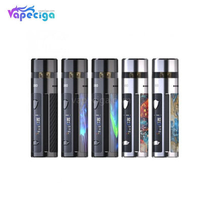 Wismec R80 Pod System VW Mod Starter Kit 5 Colors Optional