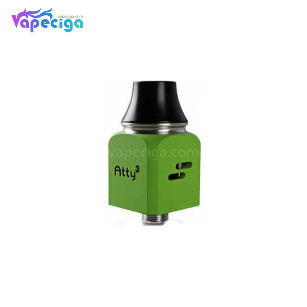Green Wotofo Atty Cubed RDA 22mm