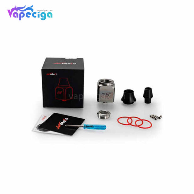 Wotofo Atty Cubed RDA 22mm Package Includes