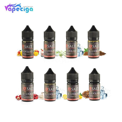 XSalt E-liquid 60PG / 40VG 40mg 30ml 8 Flavors Available