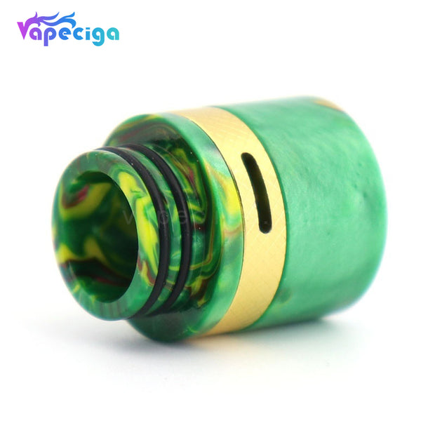 YUHETEC Resin 810 Drip Tip with Adjustable Airflow Design Real Shots