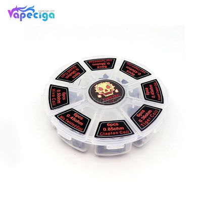 YUHETEC 8-in-1 Vape Coil 48PCs Real Shots