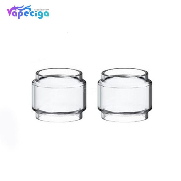 Clear YUHETEC Fatboy Replacement Tube for SMOK TFV12 Prince 2PCs