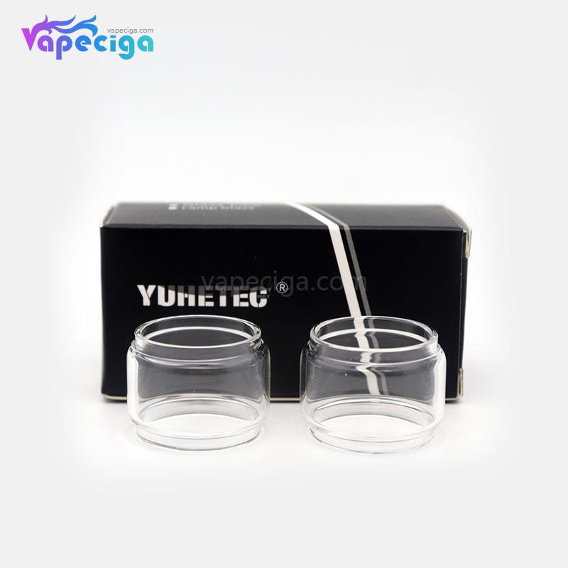 YUHETEC Fatboy Replacement Tube for WOTOFO Serpent Elevate RTA 4.5ml 2PCs