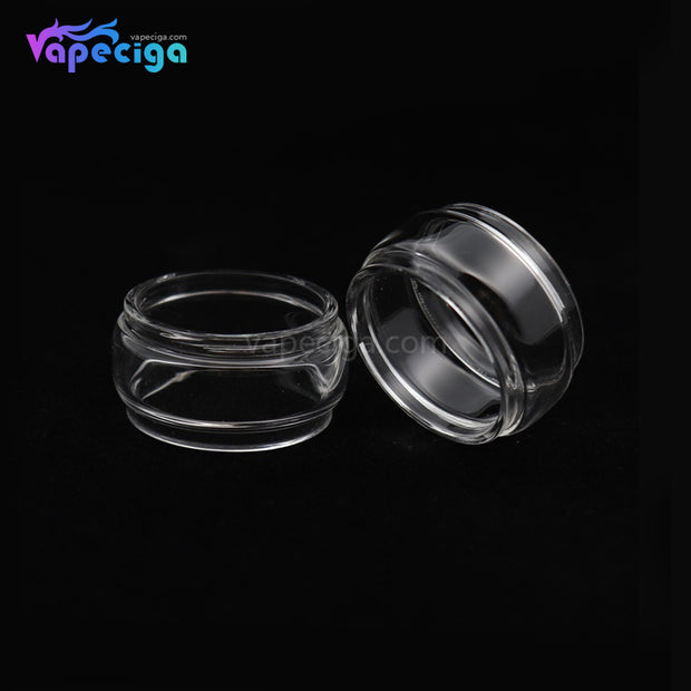 YUHETEC Replacement Tank Tube for Geekvape Blitzen 5ml RTA Fatboy Version 2PCs