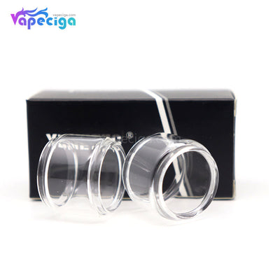 YUHETEC Replacement Glass Bubble Tank Tube 2PCs