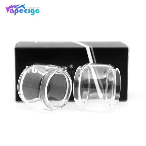 YUHETEC Replacement Glass Bubble Tank Tube for Reload RTA / Innokin Scion Tank 2PCs