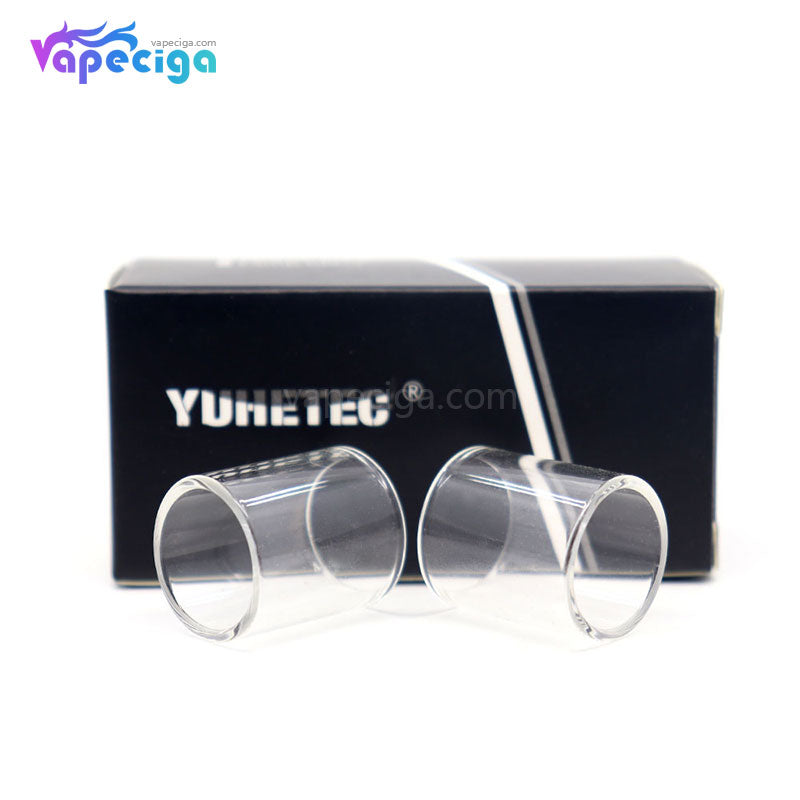 YUHETEC Replacement Glass Tank Tube for Aspire Triton Mini 2ml 2PCs