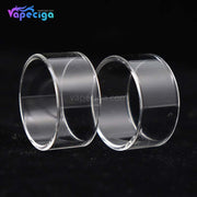 Clear YUHETEC Replacement Glass Tank Tube for Joyetech PROCORE X Tank 2ml 2PCs Real Shots