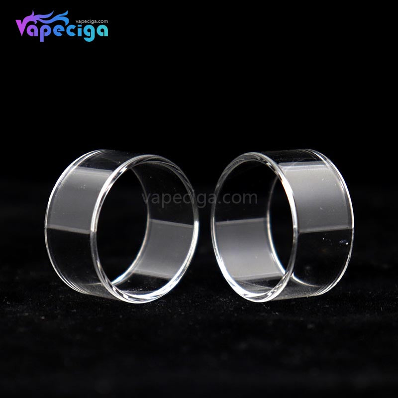 YUHETEC Replacement Glass Tank Tube for Joyetech PROCORE X Tank 2ml 2PCs
