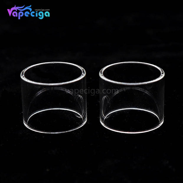Clear YUHETEC Replacement Glass Tank Tube for Joyetech PROCORE X Tank 4.5ml 2PCs Real Shots