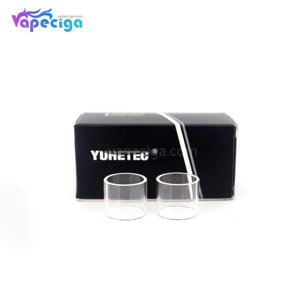 YUHETEC Replacement Straight Tank Tube for Joyetech Ultimo RTA 2PCs