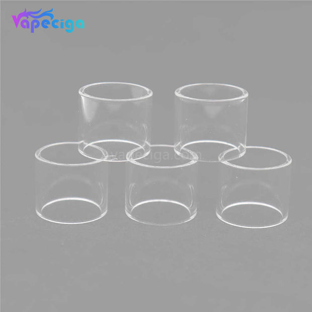 YUHETEC Replacement Straight Tank Tube for Joyetech Exceed D19 tank 5PCs