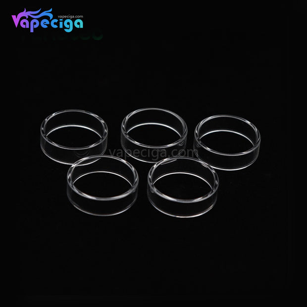 YUHETEC Replacement Tank Tube for Geekvape Blitzen 2ml RTA Straight Version 5PCs