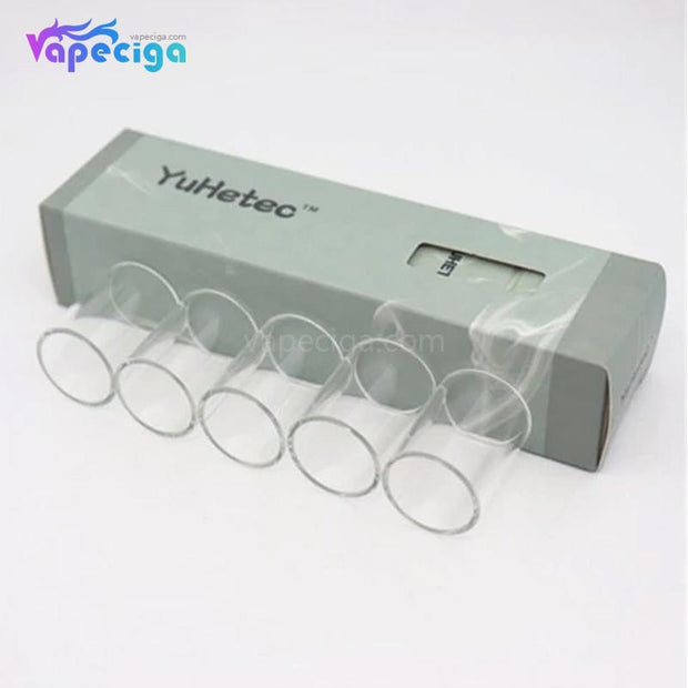 YUHETEC Replacement Straight Tank Tube for Joyetech Exceed D19 5PCs