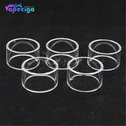 Straight YUHETEC 2ml Replacement Glass Tank Tube for Vandy Vape Berserker MTL RTA 5PCs