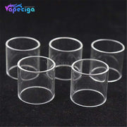Straight YUHETEC 4.5ml Replacement Glass Tank Tube for Vandy Vape Berserker MTL RTA 5PCs