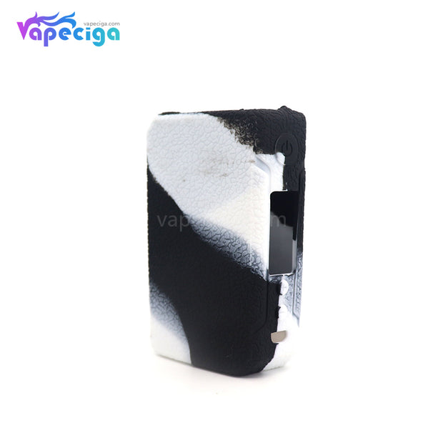 Black & White YUHETEC Silicone Case for VOOPOO Drag 2 177W Mod
