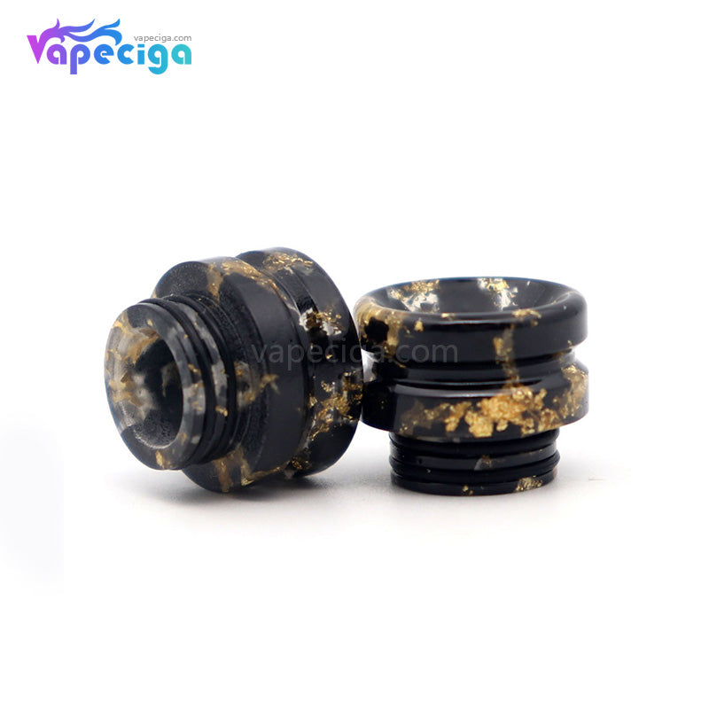 YUHETEC Universal 810 Resin Drip Tip with Golden Spot