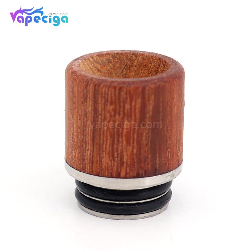 YUHETEC Wood + Stainless Steel 810 Drip Tip