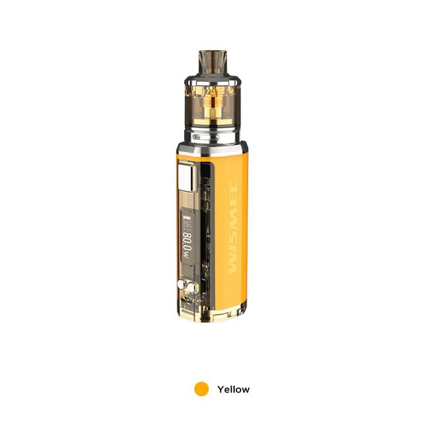 Yellow WISMEC SINUOUS V80 80W TC Kit