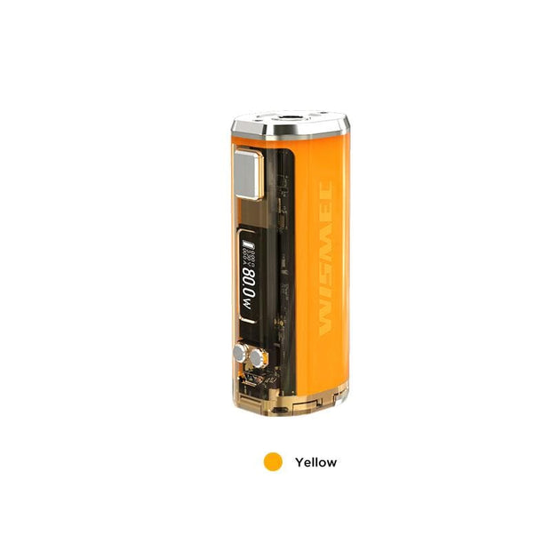 Yellow WISMEC SINUOUS V80 TC Box Mod