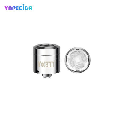 Silver Yocan Loaded Replacement Quad Coil 0.38ohm Details