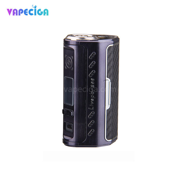 Black + Litchi Grain Yosta Livepor TC Box Mod 256W