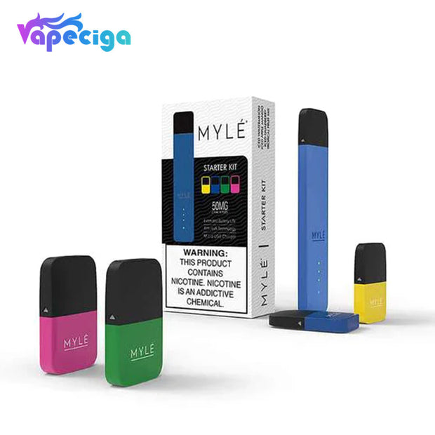 Myle V4 Pod Kit with 4 Flavors Pods 240mAh