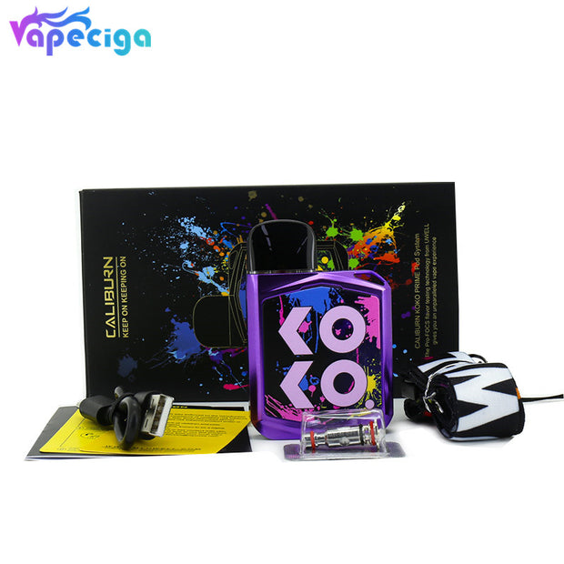 Uwell Caliburn KOKO 15W Prime Kit Pod System 690mAh Standard Version