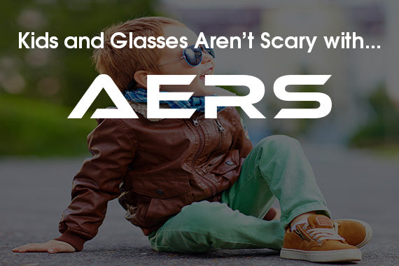 Kids and Glasses Aren't Scary with AERS Eyewear Retainers!